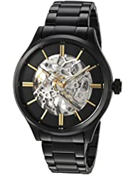 Kenneth Cole New York Mens Automatic Stainless Steel Casual Watch, Color:Black (Model: KC15171003)