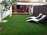 Kuber Industries Artificial High Density Grass Carpet For Floor, Balcony,Lawn,Door (6.5 X 2 FEET)