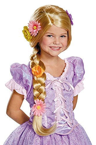 Rapunzel Disney Princess Tangled Prestige Child (Rapunzel Costumes Wig)