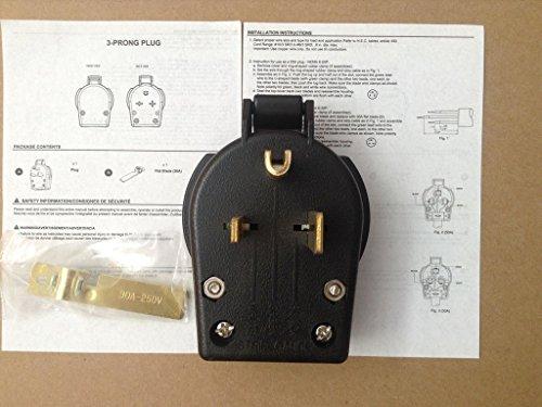 NEMA 6-50P,MILLER 213380,MIG,STICK welder Power Plug,,Wir...