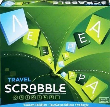Scrabble Travel Original Greek Edition