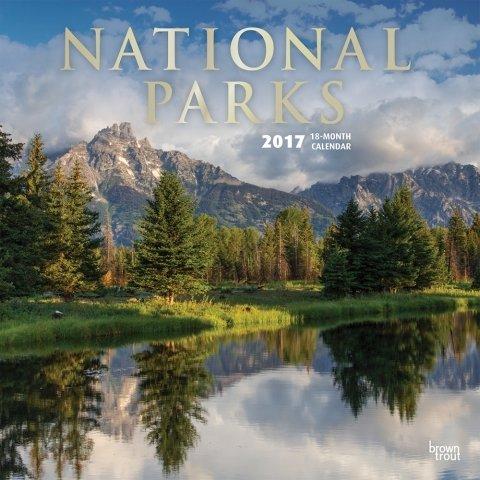 2017 National Parks Calendar - 12 x 12 Wall Calendar