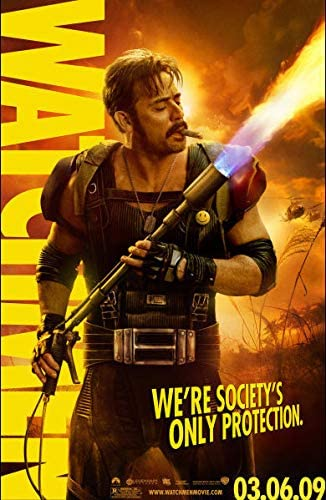 Watchmen 2009 S S Jeffrey Dean Morgan Advance Rolled Movie Poster 11x17 At Amazon S Entertainment Collectibles Store