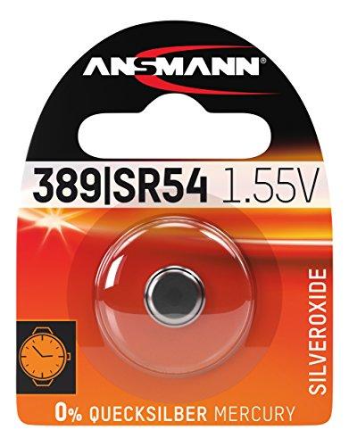 ANSMANN Silveroxide Coin/Button Cell (1.55V-SR54/389/390) ()