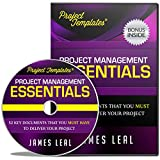 SAVE TIME & EFFORT with PROJECT TEMPLATES® 52 Essential Project Management Documents - WORK SMART CD ROM - Processes, Procedures, Strategies, Plans, & Forms