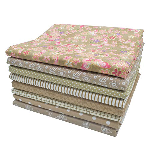 iNee Light Coffee Fat Quarters Fabric Bundles