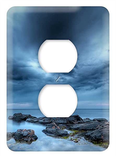 Amazon.com: WaPlate - Blue Clouds - Switch Plate Outlet ...