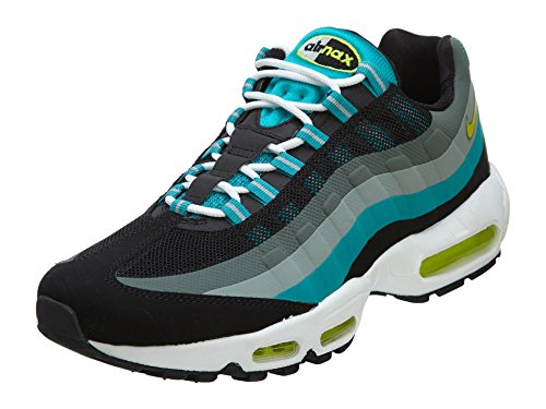 best website da8be 3ba6f Galleon - Nike Air Max 95 No Sew Mens Running Shoes 616190-033 Black 9 M US