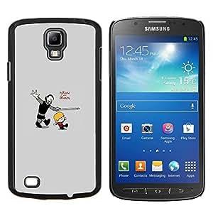 Qstar Arte & diseño plástico duro Fundas Cover Cubre Hard Case Cover para Samsung Galaxy S4 Active i9295 (Tyrion y Bronn)