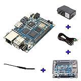 Banana Pi BPI M3 A83T Octa-Core (8-core) 2G LPDDR3+8GBEMMC Open-source Development Board Single Board Co raspberry pi compatible, Ship with Powerful Acc