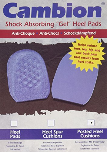 Cambion Posted Heel Cushions - Pair - Men 5-7, Women (Cambion Heel Pads)