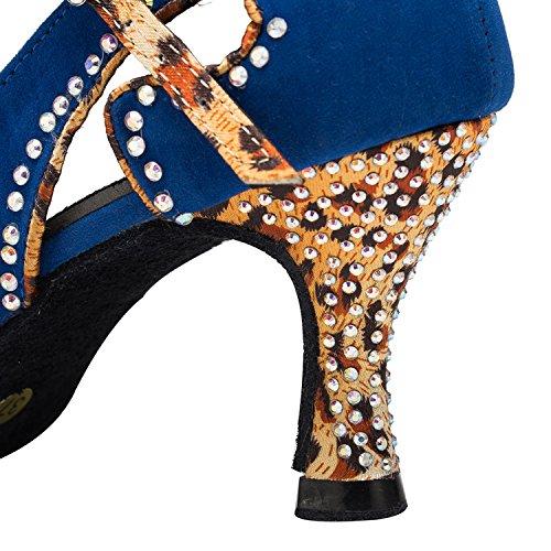 Miyoopark , Salle de bal femme - bleu - Blue-8cm heel, 35