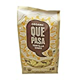 Que Pasa White Corn Tortilla Chips, 16 Ounce - 12 per case.