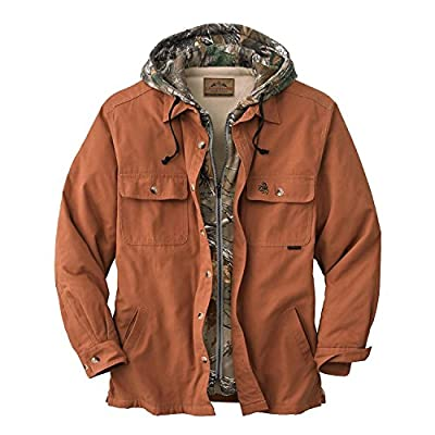 Legendary Whitetails Men's Voyager Hooded Shirt Jacket