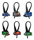 Thomas and Friends Silicone Snap Lock Zipper Pulls 6 Pcs Set #1