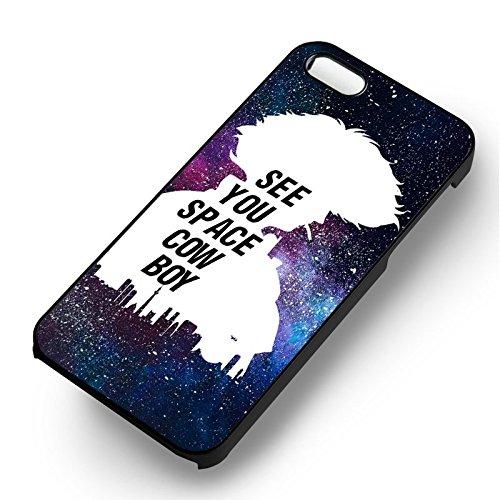 Cowboy Bebop Quotes pour Coque Iphone 6 et Coque Iphone 6s Case (Noir Boîtier en plastique dur) K7P1FQ