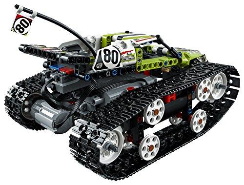 51RZSKedx9L - LEGO Technic RC Tracked Racer 42065 Building Kit (370 Piece)