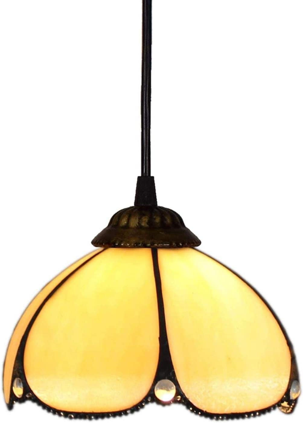 Tiffany luz de la lámpara colgante 8 pulgadas lámpara