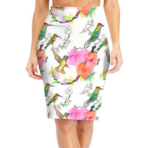 MC WUAHW Spring Kingfisher Decent Bodycon Pencil Skirt Daily Mini Skirt Slim Tight Dress