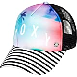Roxy Junior's Water Come Down Trucker Hat, Marshmallow, One Size