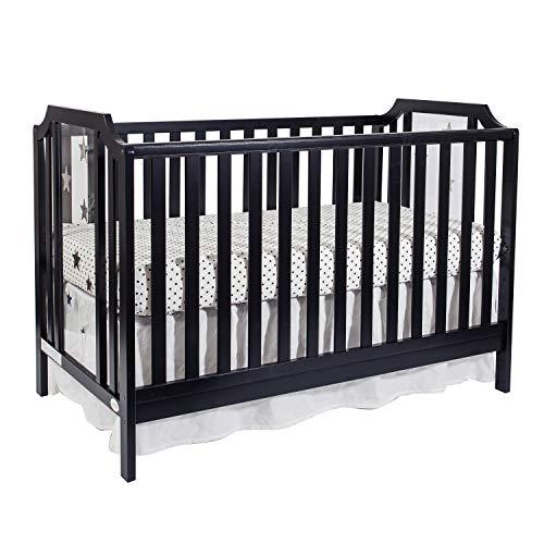 Suite Bebe Celeste 3 in 1 Island Crib Black