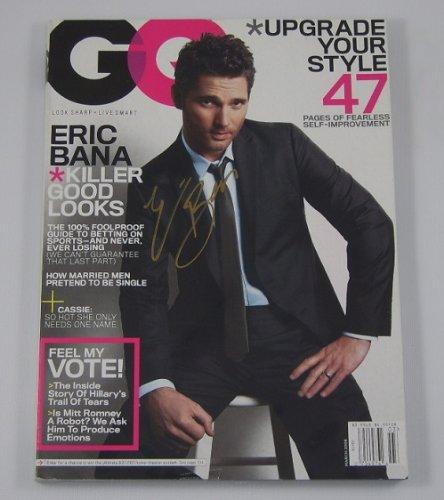 Hulk Eric Bana Signed Autographed GQ Gentlemen's Quarterly Magazine Loa