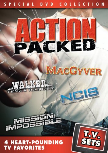 DVD : TV Sets: Action Packed (Full Frame, Widescreen)