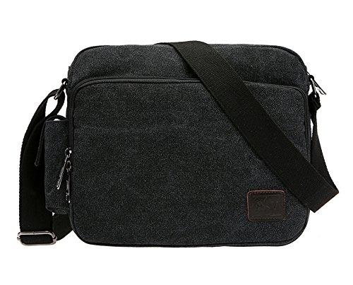 body Fashion Canvas Shoulder Yokeeyoo Black Men Bag Briefcase Casual Cross Handbag PTYqUZ