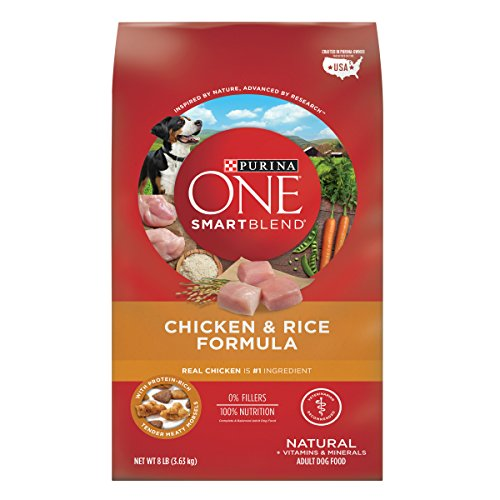 Purina ONE Natural Dry Dog Food; SmartBlend Chicken & Rice Formula - 8...