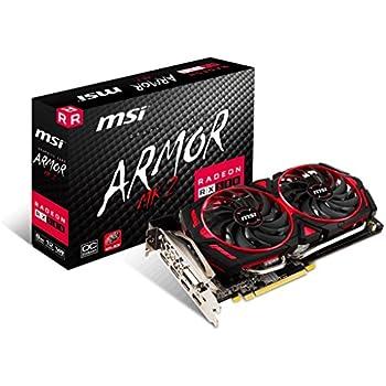 Amazon.com: MSI GAMING Radeon RX 480 GDDR5 8GB CrossFire VR ...