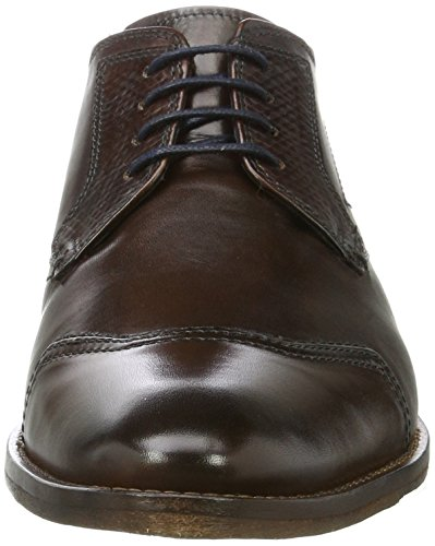 Daniel Hechter Mens 812175071000 Derbys Brown (marrone Scuro)