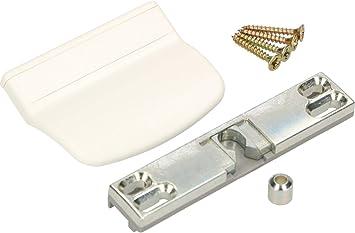 Tirador para puerta de balc/ón de Adgo color blanco resistente a los rayos UV