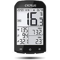 CYCPLUS GPS-fietscomputer, waterdichte fietscomputer en kilometerteller, ANT+ draadloze fietscomputer, compatibel met…