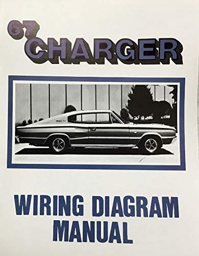 1967 DODGE CHARGER FACTORY ELECTRICAL WIRING DIAGRAMS & SCHEMATICS: DODGE  CHRYSLER: Amazon.com: Books | 2015 Charger Wiring Diagram |  | Amazon.com