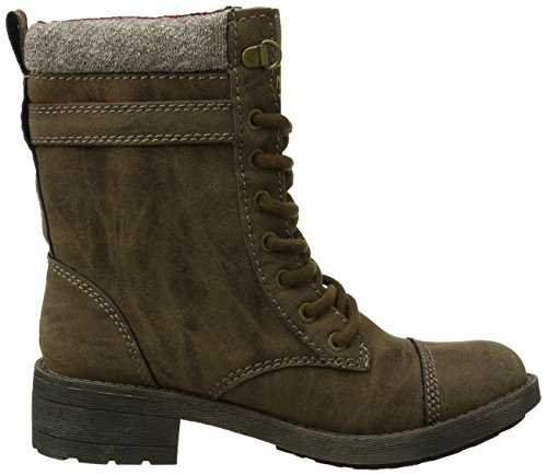 Bottes Brown Thunder Rocket Marron Dog Marron Femme Motardes Brown E78xROw8q