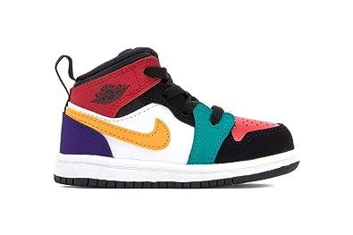 detailing 4032b c6529 Amazon.com   Nike Jordan 1 Mid (td) Toddler 640735-125 ...
