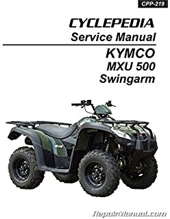 kymco mxu 250 atv workshop manual repair manual service manual download
