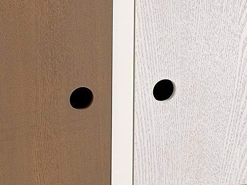 Pin MACABANE Meuble avec 2 Portes 34 x 90 x 56 cm