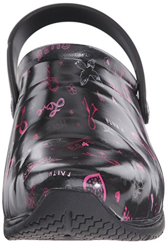 Print Anywear Cure Shoe Hope Pink Ribbon Women's Work Zone Love 1qHzr1w