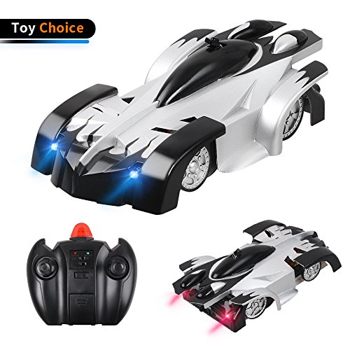 LetsFunny Kids Toy Remote Control Car, Wall Climbing RC Car for Boys, Intelligent 360 Rotating Stunt Car, Sport Racing Car Mini Vehicle with Radio Control