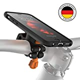 MORPHEUS LABS M4s iPhone 6 Bike Mount iPhone, Phone Holder & iPhone 6 Case, Bicycle Cell Phone Holder, Adjustable, fits Most Bike Handlebars, 360 Rotation, Bike Kit for iPhone 6/6s (Not Plus) [Black]