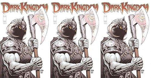Frank Frazetta's Dark Kingdom #4 (2008-2010) Limited Series Image Comics - 3 Comics (Image Three Kingdoms)