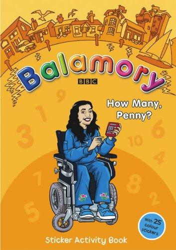 How Many, Penny?: A Sticker Activity Book (Balamory)