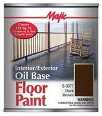 YENKIN MAJESTIC PAINT 8-0077-2 Dark Brown Interior/Exterior Oil Based Paint
