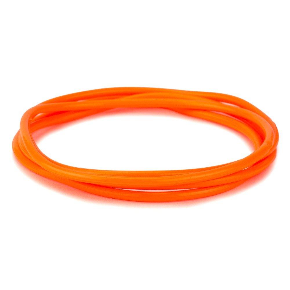 Joe Cool Bracelet Pack of 4 Orange Made with Gummy /& Rubber