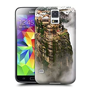 Unique Phone Case Famous scenery Greek air of the city Hard Cover for samsung galaxy s5 cases-buythecase