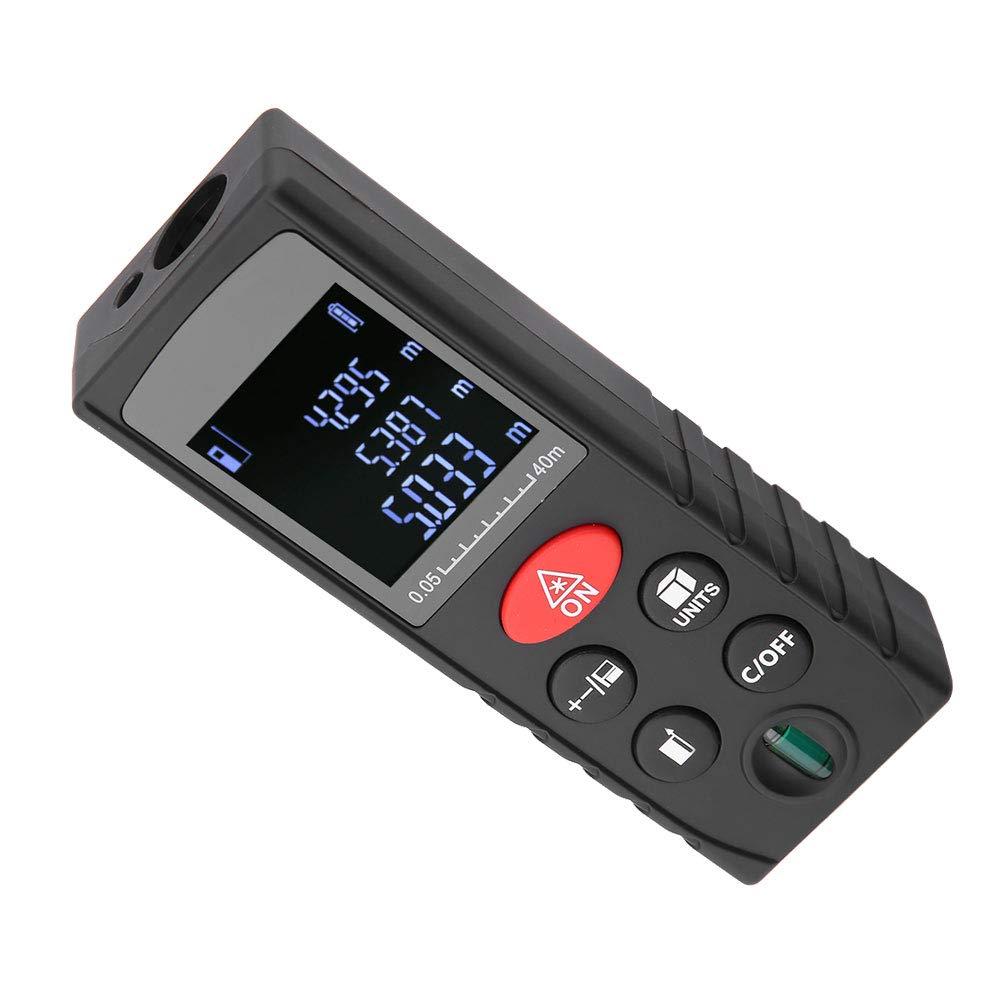 KXL-D Medidor de Distancia con Tel/émetro L/áser Digital Medidor de Distancia L/áser Medici/ón de Distancia D60
