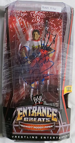 Rowdy Roddy Piper Signed Autographed WWE Action Figure PSA/DNA #4A29849