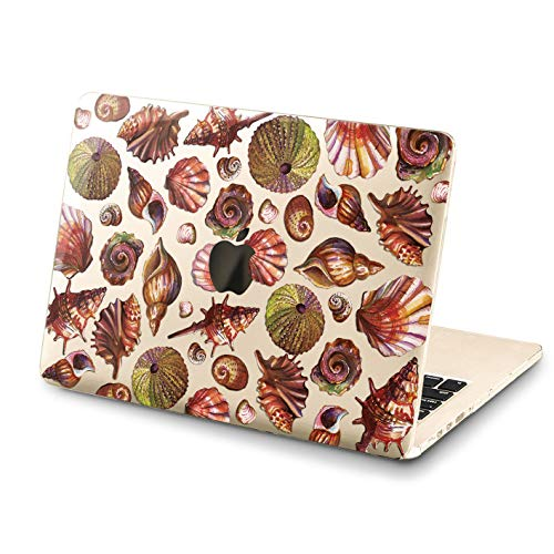 Lex Altern MacBook Air Case 13 inch Pro 15 2018 2017 Cute Seashells Mac Hard 11 Funny Ocean Retina 12 Cover Shellfish Soft Clear 2016 Plastic Laptop Protective Girly Print 2015 Touch Bar Beach Shore -