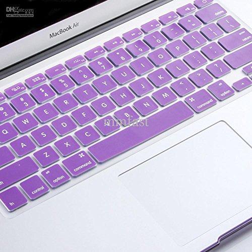 Pashay Keyboard Skin for Apple Macbook Air/Pro/Retina 13.3 #34;  amp; 15.4 #34;  Purple